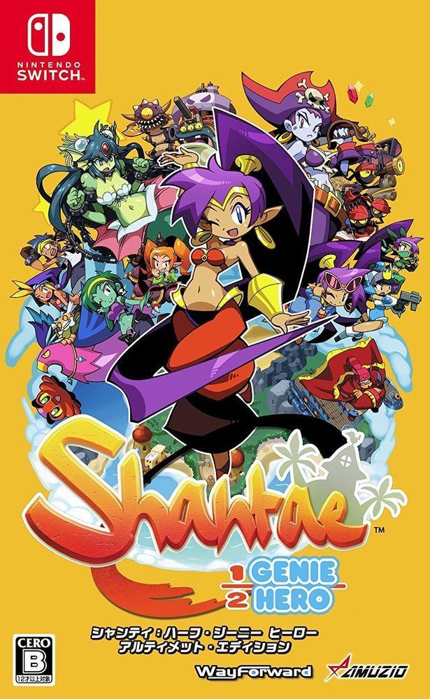 USED Nintendo Switch Shantae 1/2 Genie Hero Ultimate Edition