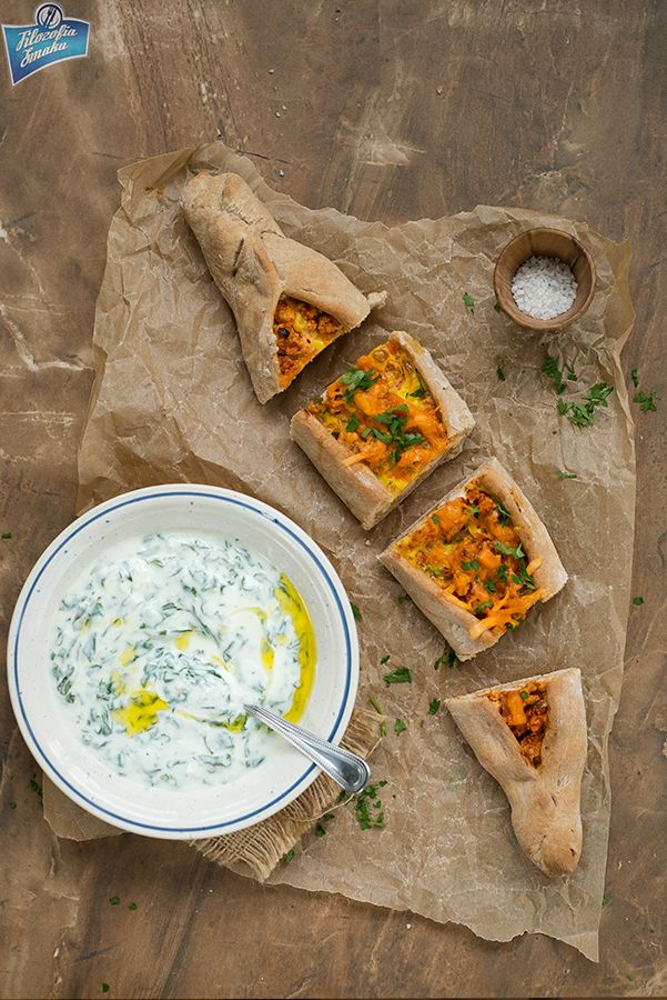 Pide with beff and eggs/Pide z wołowiną i jajkami