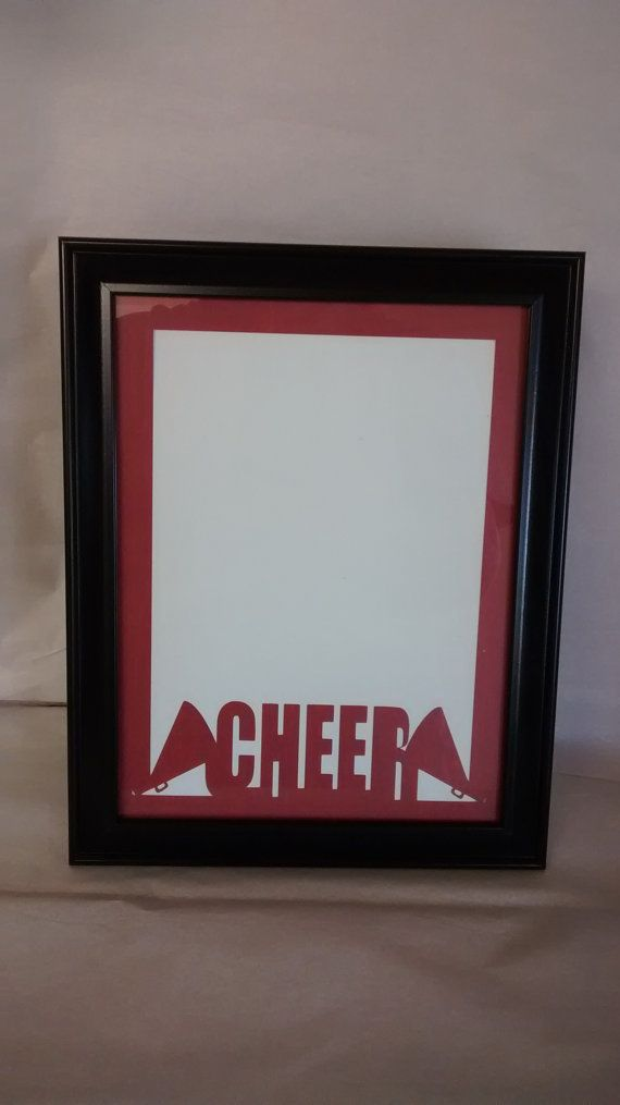 12 best Cheer Picture Frame images on Pinterest | Frame, Frame shop ...