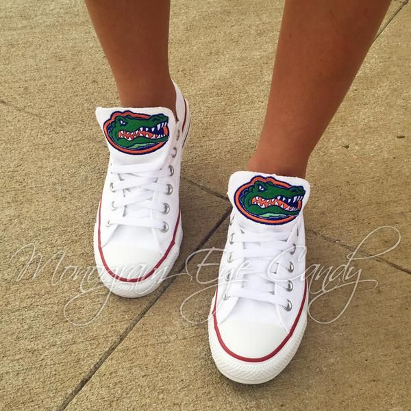 Customized Converse Sneakers Florida Gators Edition