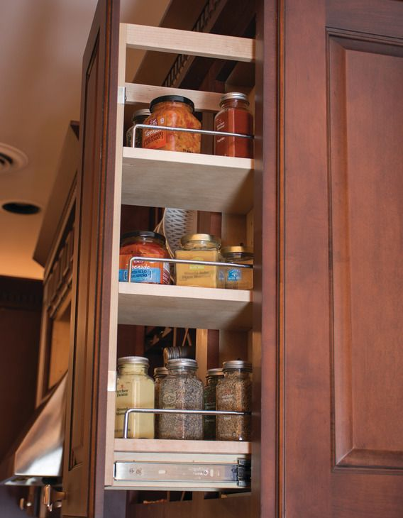 Wall Cabinet Pull Out Organizer By Hafele Pull Out Spice Rack