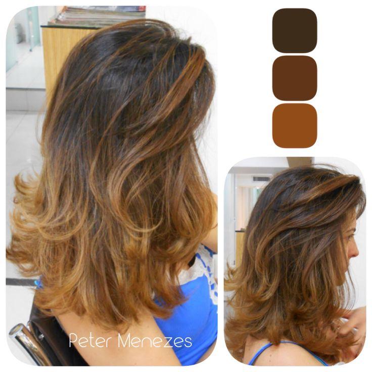 #cabelo #hair #color #luzes #highlights #mechas #californianas #sunkisses #reflexo