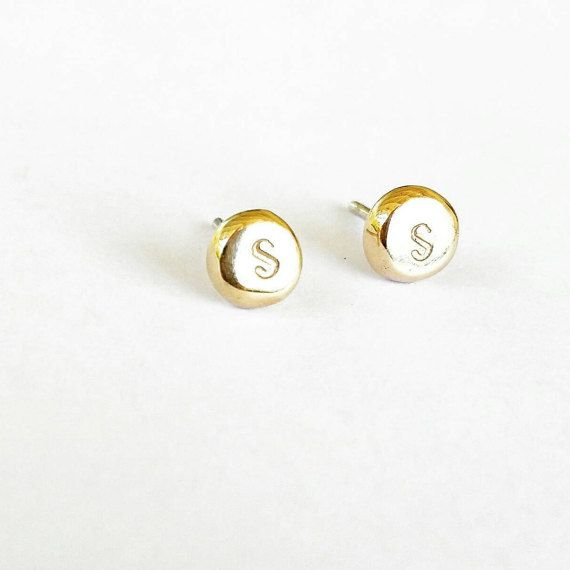 Personalised earrings organically custom by JulesReadJewellery