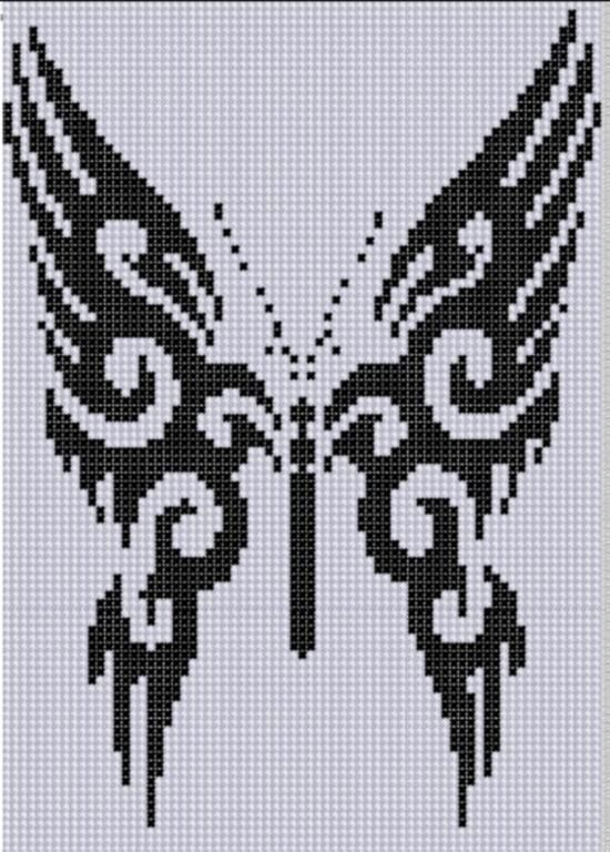 Butterfly 18 Cross Stitch Pattern