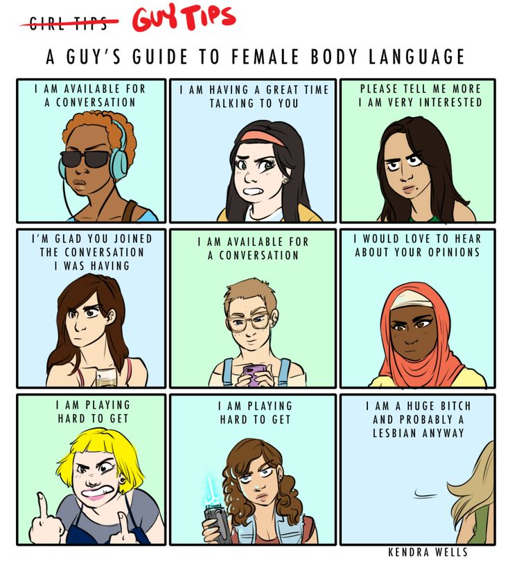 """The latest installment of """"Girls Tips,"""" Kendra Wells' gorgeous comic series for The Toast gets turned over to Guys."""