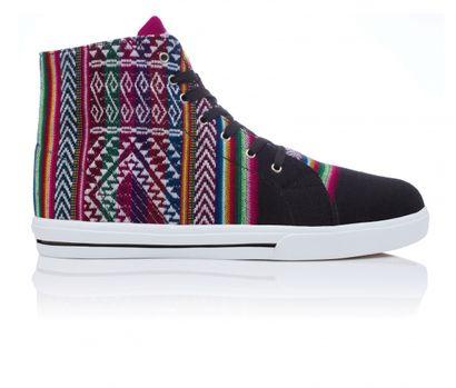 Trampki Inkkas - aztec print sneakers converse