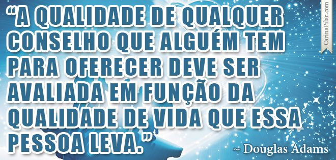 Quote do Douglas Adams