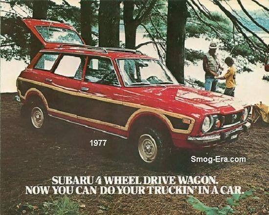 1977 Subaru Wagon ad