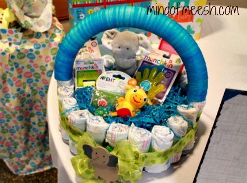 DIY Diaper Cake Basket « Mind of Meesh