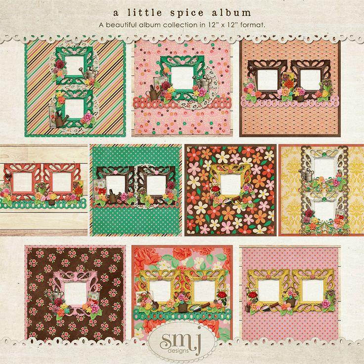 A Little Spice Album   Shabby Miss Jenn Designs