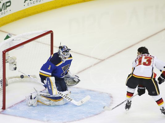 What sparked Johnny Gaudreau's rise as a rookie?