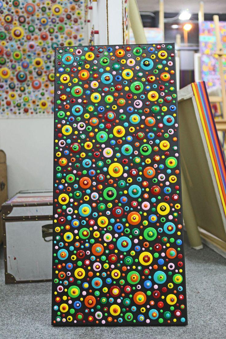 Die besten 25 abstrakte bilder ideen auf pinterest vogel bilder acrylbilder abstrakt und - Abstrakte bilder leinwand ...