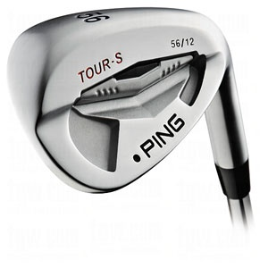 PING Mens Tour-S Brushed Silver Wedges