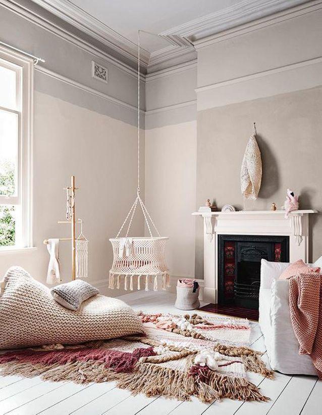 A bohemian baby room  – baby