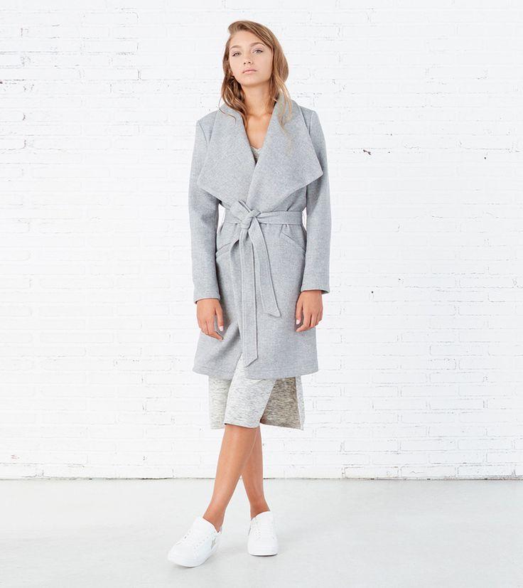 Bolsillos delanteros en abrigos vintage