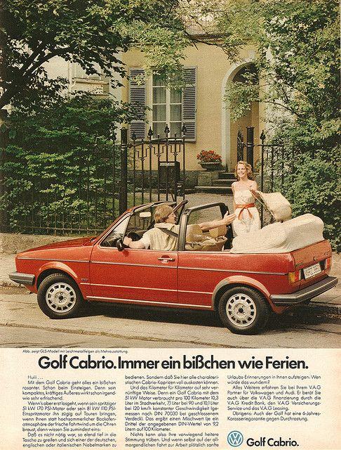 VW Golf Cabrio (1980)