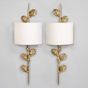 Vaughan Leaf Wall Lights available through the Ainsworth-Noah showroom. & 13 best images about Lighting on Pinterest | Desk lamp Light ... azcodes.com
