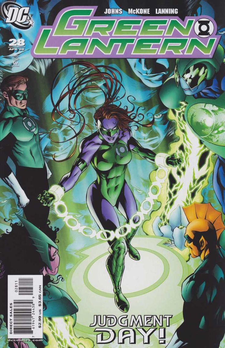 Green Lantern #28 - Sinestro Corps Epilogue- The Alpha Lanterns, Part 3 (Issue)