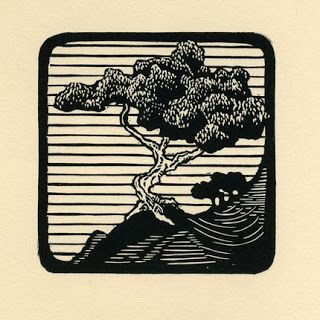 Inspired by Senses: Justin Miller Linocut Prints background ideas