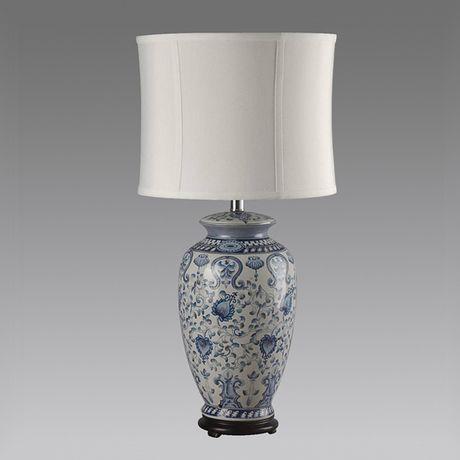 Голубая настольная лампа Орнамент http://loft-concept.ru/catalog/table-lamp/