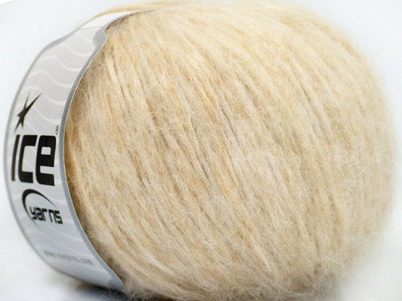 Baby Alpaca Yarn, Royal Baby Alpaca Yarn, Beige, Ice Yarns Royal Baby Alpaca Yarn, 120 yards per skein, # 38181