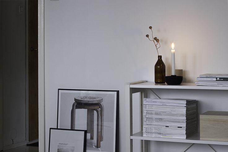 KYLÄSSÄ / Lundia bookshelf