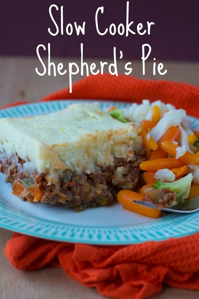 Slow Cooker Shepherd S Pie Recipe Slow Cooker Recipes Food Comfort Food
