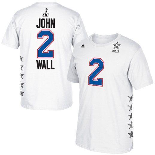 Adidas John Wall Washington Wizards White 2015 Nba All