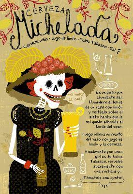 Cositas Ricas Ilustradas por Pati Aguilera: Cerveza Michelada