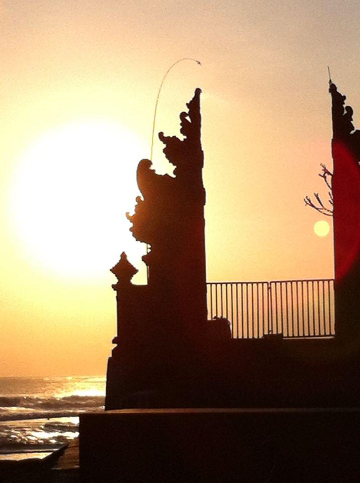 Sunset at Echo Beach