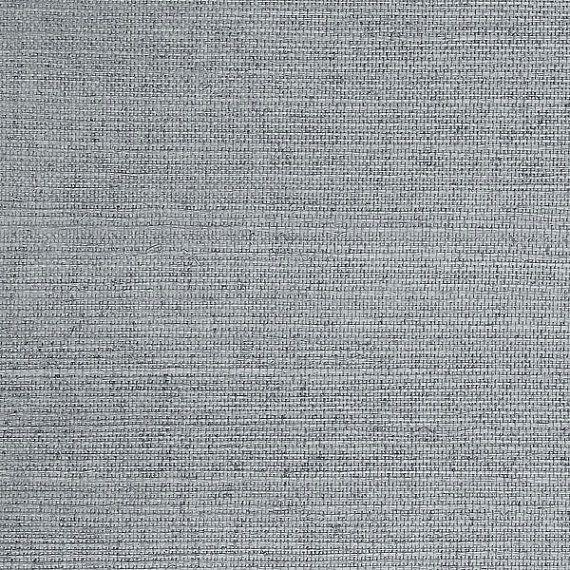 Sisal Grasscloth Powder Blue Wallpaper R1993 Beach style