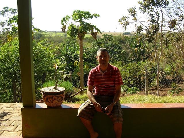 Repousar na roça (interior de Goiás - Brasil)