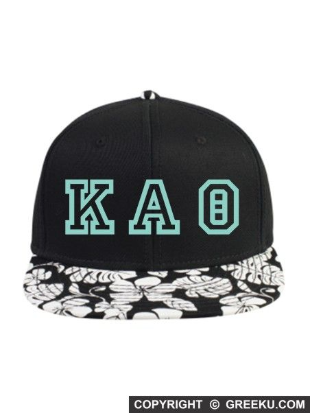 Sorority Ivy Letters Embroidered Hawaiian Hat  | Greek U | Customize the thread color and the sorority name. Minimum 12. Order now! http://www.greeku.com/sorority/merchandise/hats/embroidered-hats/ivy-letters-embroidered-hawaiian-hat/