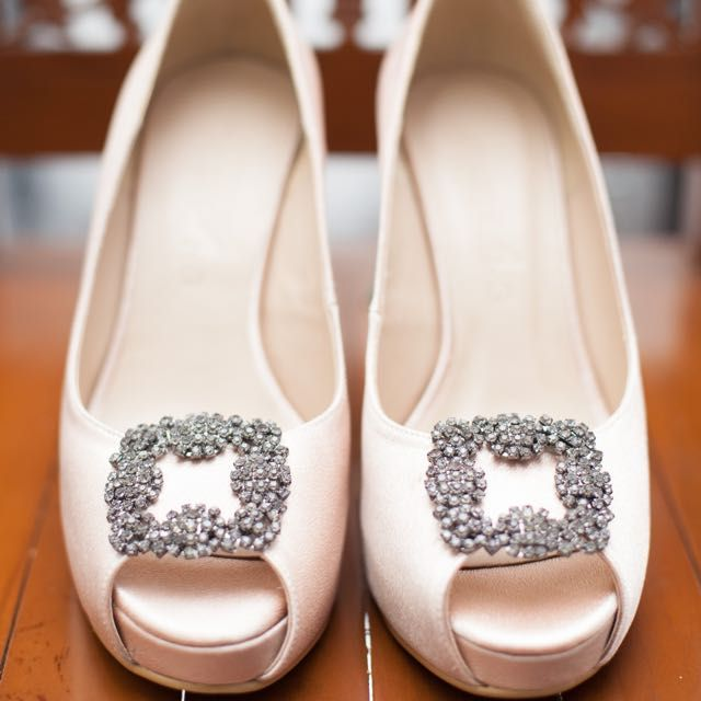 Buy Christy Ng Wedding Shoes in Kuala Lumpur,Malaysia. Size 39. Used once. Like-new condition 9.5/10. Custom made from Christy Ng. Get great deals on Women's Shoes Chat to Buy