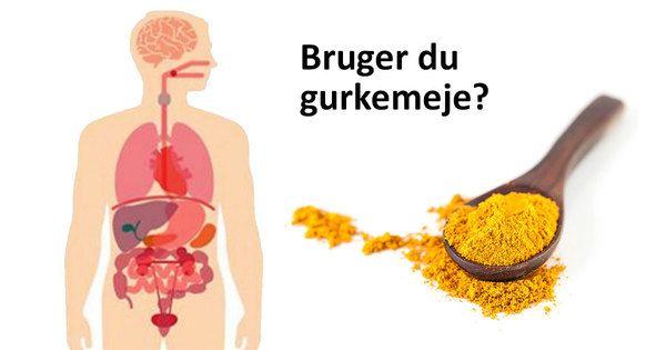 Gurkemeje afhjælper kræft og Alzheimers. Krydderiet alle burde spise hver dag.