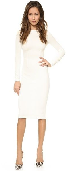 5th & Mercer Long Sleeve Dress, this would also be cute in a wine or black.