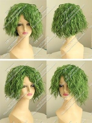 Hot Sell!Popular COSplay wig batman Joker wig sexy green small curl performance