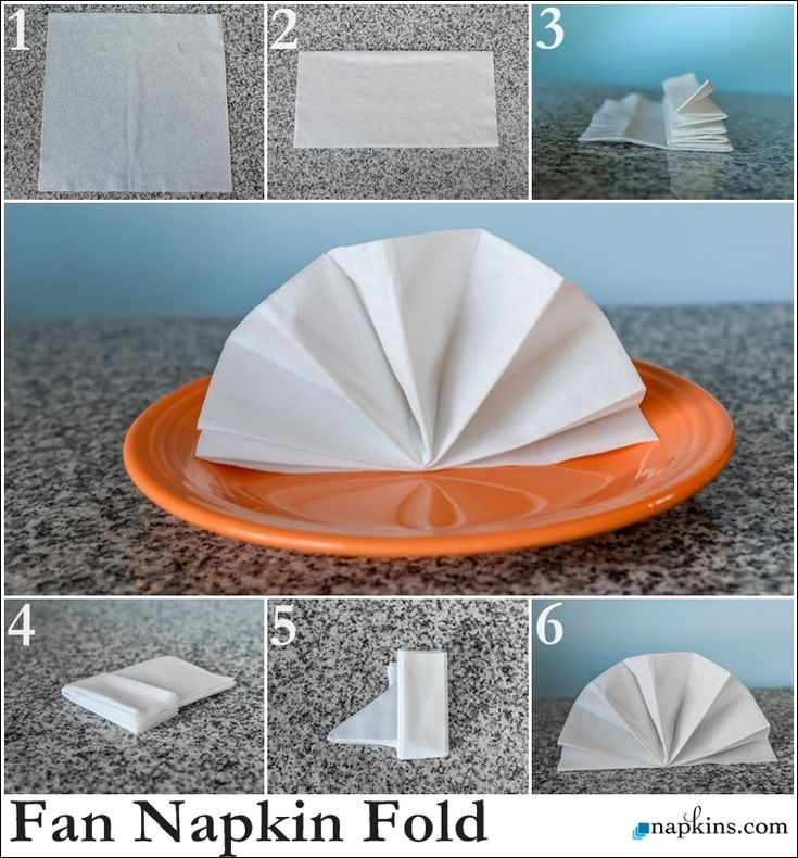 How To Make Table Napkin Designs napkin folds that hold silverware one minute guide to napkin folding How To Standing Fan Napkin Fold