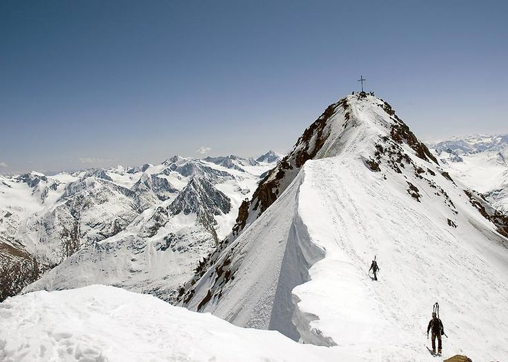Tirols höchster Berg ist mit 3768 Metern die Wildspitze.