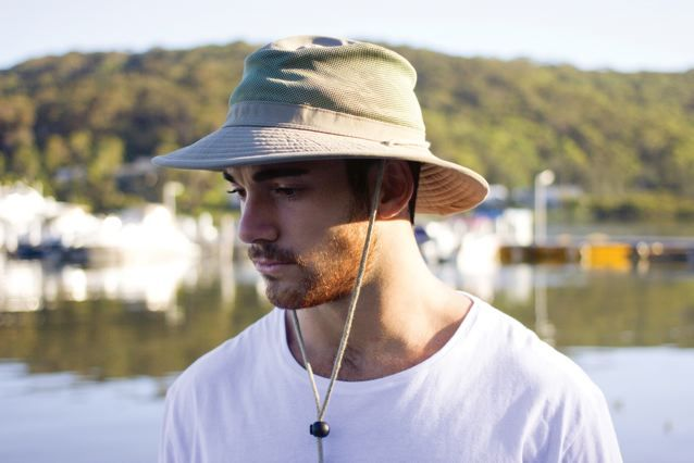 Our Explorer hat is great for #fishing