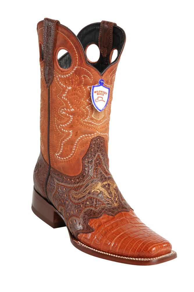 georgetowncowboyboots -  Wild West  Men's Saddle Rodeo Cowboy Western Caiman Boots,Brown,Cognac and Oryx, $299.95 (http://www.georgetowncowboyboots.com/wild-west-mens-saddle-rodeo-cowboy-western-caiman-boots-brown-cognac-and-oryx/)