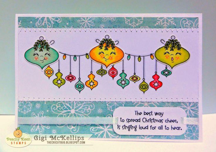 The Cricut Bug: Ornament Card