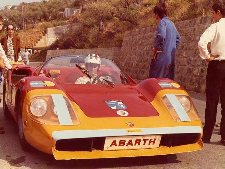 1970 guida anche le Fiat-Abarth alla Cefalù-Gibilmanna e al Mugello