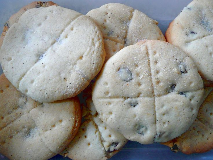 Soul Cake for All Saints day--->  people would go door to door and collect soul cakes which is how trick-or-treating came about.