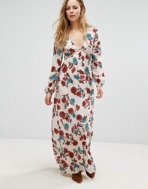 Search: floral long sleeves maxi - Page 1 of 1 | ASOS