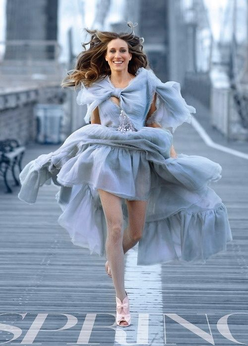 RED REIDING HOOD: Carrie Bradshaw Brooklyn Bridge Sarah ...