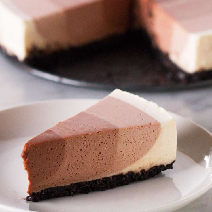 Chocolate Ripple Cheesecake Recipe by Tasty