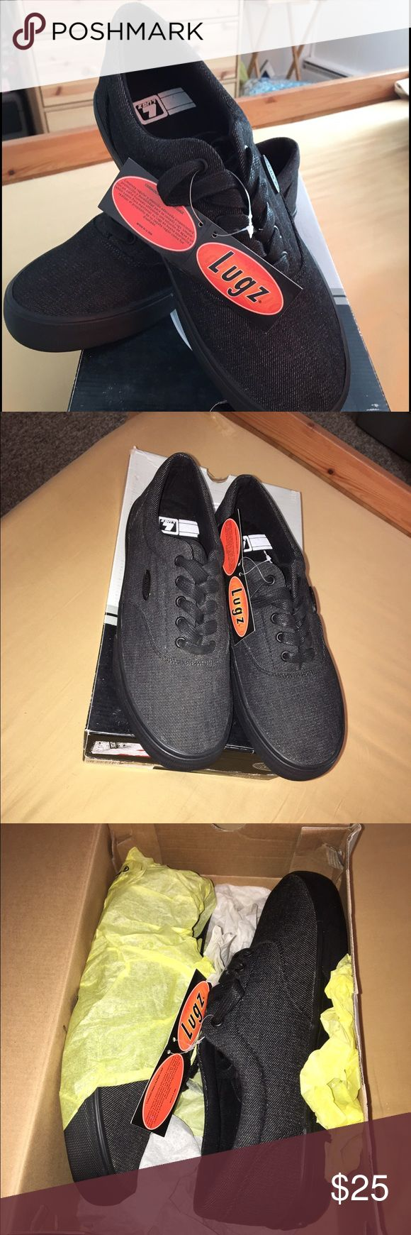 NWT🆕 Lugz men sneakers Sale‼️🎉🎉 Brand new Lugz men sneakers size 10 1/2..I bought them for my son n he didn't like them. SALE‼️🎉🎉 LUGZ Shoes Sneakers