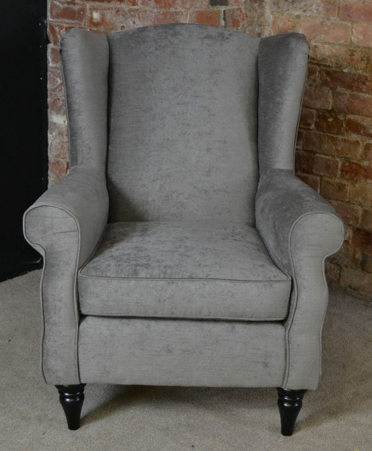 Best Brand Chairs: Sherlock Wing Back Vintage Style Arm Chair