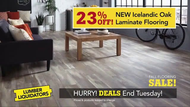 Lumber Liquidators Fall Flooring Sale Embrace Your Style Ad Commercial On Tv 2018 Flooring Sale Lumber Liquidators Flooring
